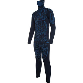 Viking Europe Timo Ensemble De Sous-Vêtements Primaloft Homme, navy blue